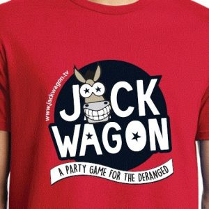 Mens Jackwagon T-Shirt in Red