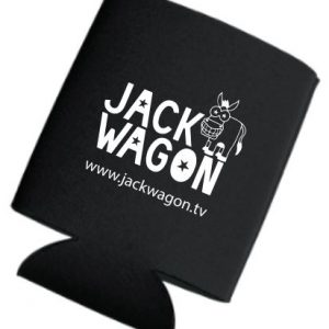 Be a JackMaster with this Jackwagon Koozie
