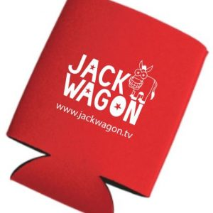 Be a Jackmaster with this Jackwagon koozie.
