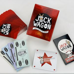 Jackwagon Game What is in the Box